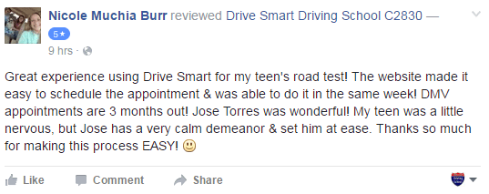 About Us and Reviews | Drive Smart Teen and Adult Driving School